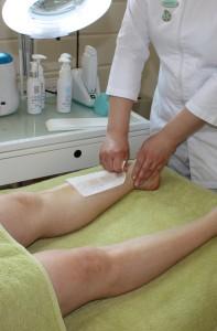 Vaxning av ben
